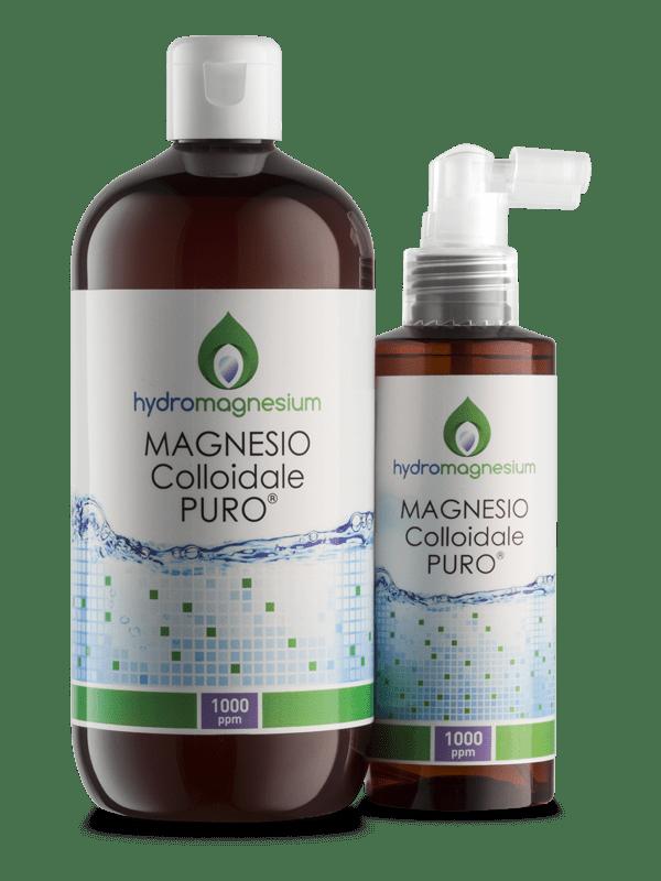 MAGNESIO COLLOIDALE PURO 500ml – 1000ppm FLACONE + SPRAY